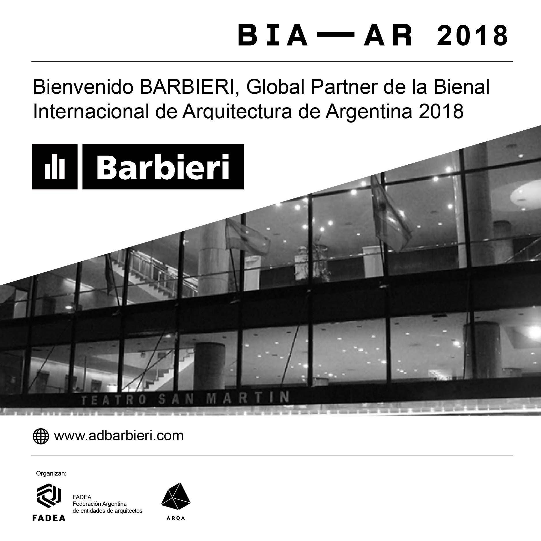 Barbieri bienal arquitectura