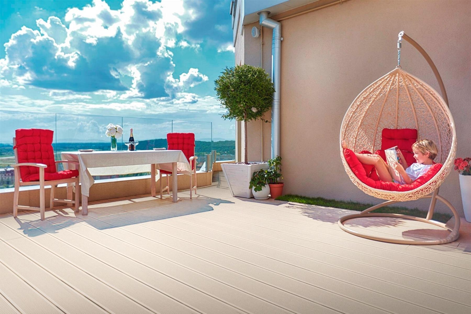 Por qué elegir un deck de PVC para mi vivienda